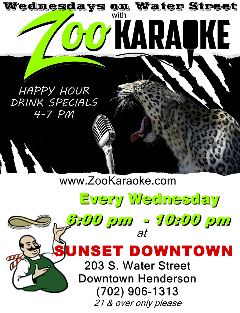 Wednesday Zoo Karaoke Henderson
